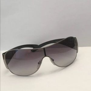 Prada 57L 5AV Sunglasses In Black NWOT